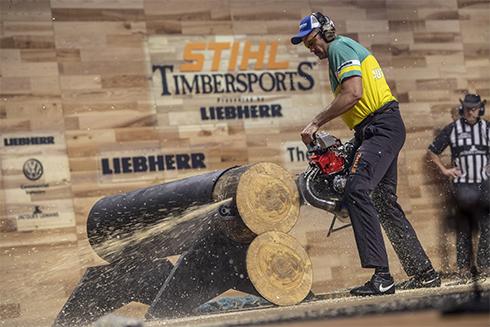 Laurence O'Toole Crowned STIHL TIMBERSPORTS® World Champion