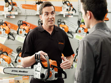 : REASON #1STIHL Dealers are outdoor power equipment specialists.