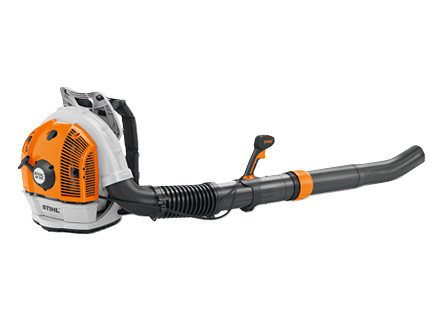 A wizard at adapting: on the STIHL BR 700 users can adjust the blower tube length and the handle position to suit them personally, without using tools.