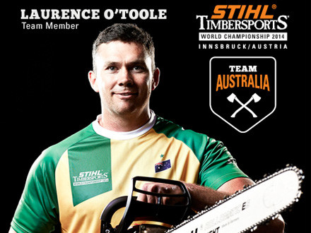AGE: 33WEIGHT: 96kgHEIGHT: 196cmLIVES: Melbourne, VictoriaDAY JOB: ArboristFAVOURITE DISCIPLINE: UnderhandHOW MANY AXES: 80FAVOURITE AXE: TuatahiHOT SAW ENGINE: 300 cc RotexBEST SUCCESS SO FAR: Winning All Round Champ of Champs, youngest winner in the Sydney World ChampionshipsTIMBERSPORTS WORLD SERIES: No. 5