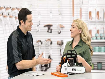 : REASON #10At a STIHL Dealership, you'll get face-to-face customer service.