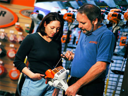 : REASON #5STIHL Dealers can provide operating and safety demonstrations.