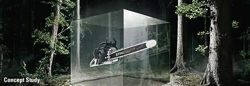 STIHL Carbon Concept chain saw