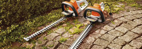 Electric hedge trimmers : the quiet cutters